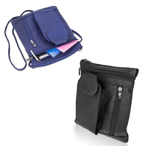 Trendy Soft Cell Phone Cross Body Bag – 2 Colors