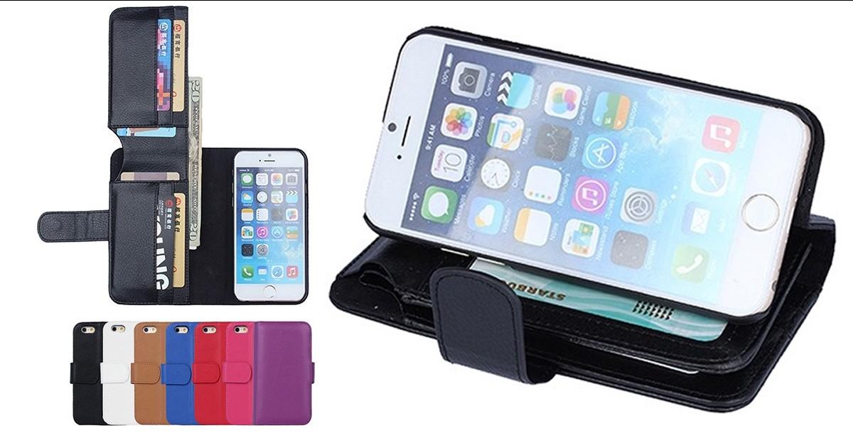 iPhone 6 Flip Wallet/Case Combo - 7 Colors