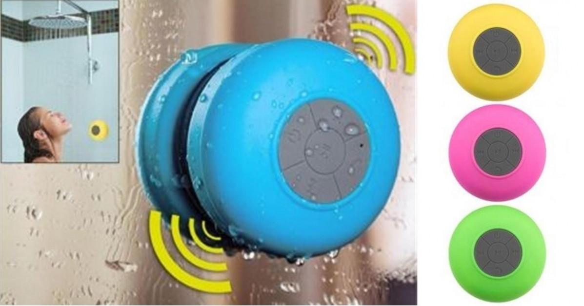 Bluetooth Shower Speaker - 6 Colors