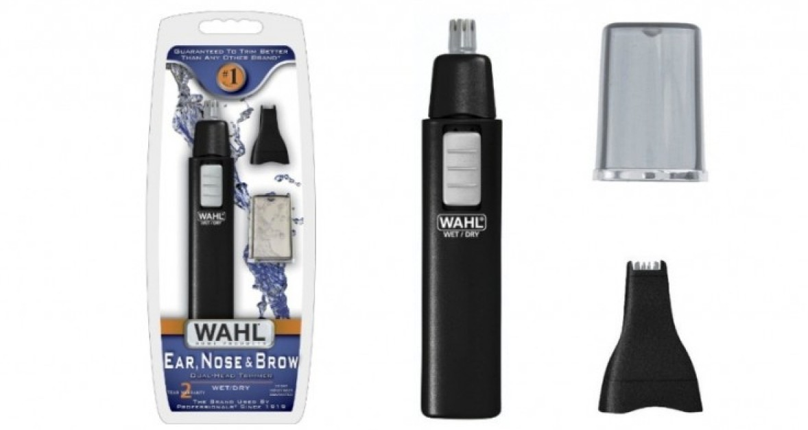 wahl ear nose and brow trimmer. Black Bedroom Furniture Sets. Home Design Ideas