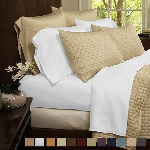 Charmant Ultra Soft 1800 Series Bamboo Fiber Bed Sheets   4 Pc Set   18 Colors
