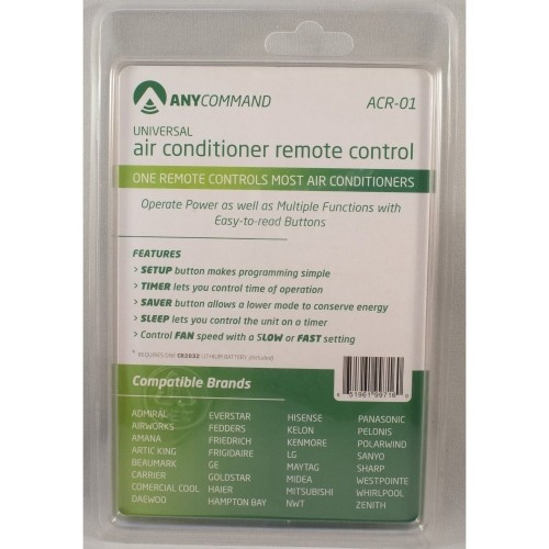 Anycommand Universal Ac Remote Control
