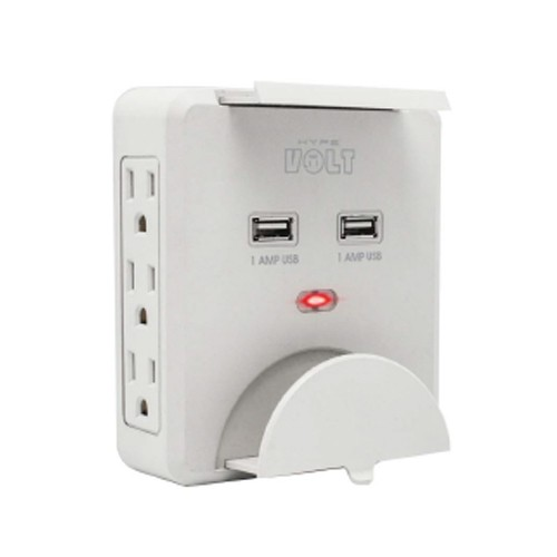 Home/Office Charging Station 2 USB Ports And 6 AC Outlets