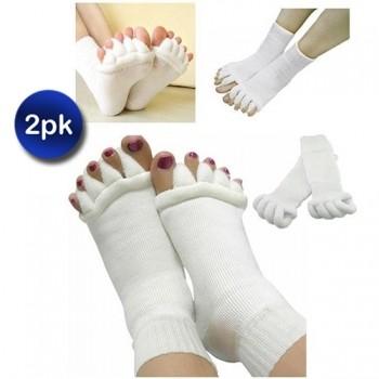 2 Pack Plantar Fasciitis Foot Sleeves