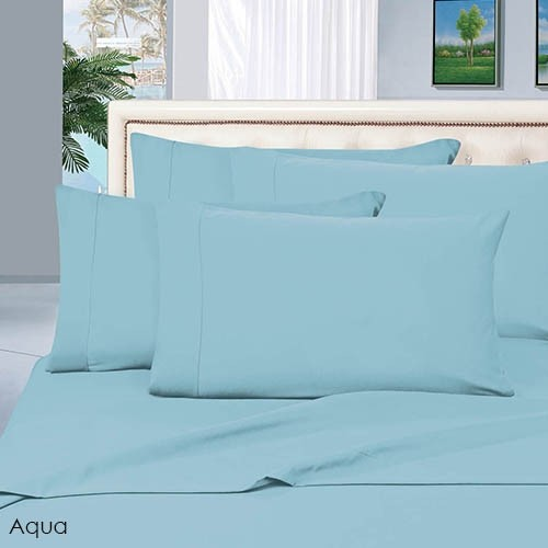 6 Piece Set: Luxury Silky Soft Egyptian Comfort 1500 Series Wrinkle Free  Bed Sheets   12 Colors