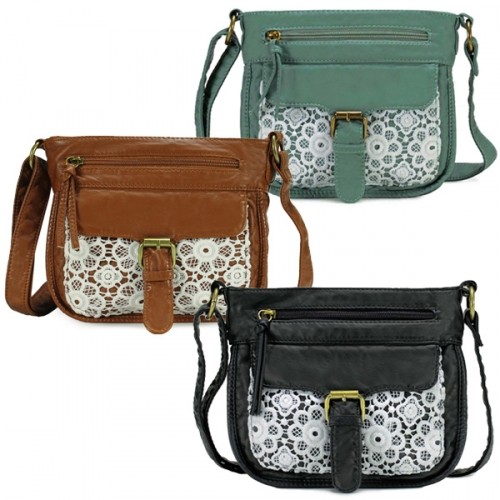 9c0ddfd9c1262 Scarleton Front Lace Small Crossbody Bag - 4 Colors