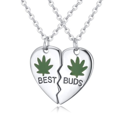 Valentine's Best Buds Pendant Set