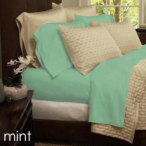 6 Piece Set: Super Soft 1800 Series Bamboo Fiber Bed Sheets   11 Colors