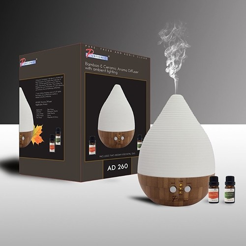 2 In 1 Pursonic Aroma Diffuser Amp Humidifier With 2 Scented