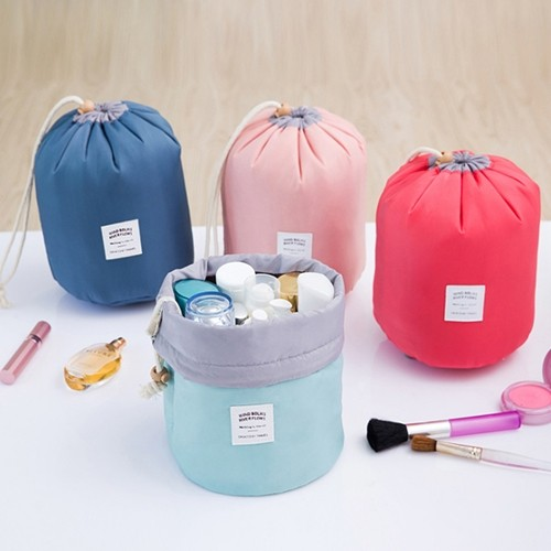Makeup Travel Bag Barrel
