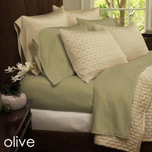Beau 6 Piece Set: Super Soft 1800 Series Bamboo Fiber Bed Sheets   11 Colors