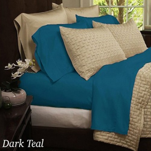 Ultra Soft 1800 Series Bamboo Fiber Bed Sheets   4 Pc Set   18 Colors