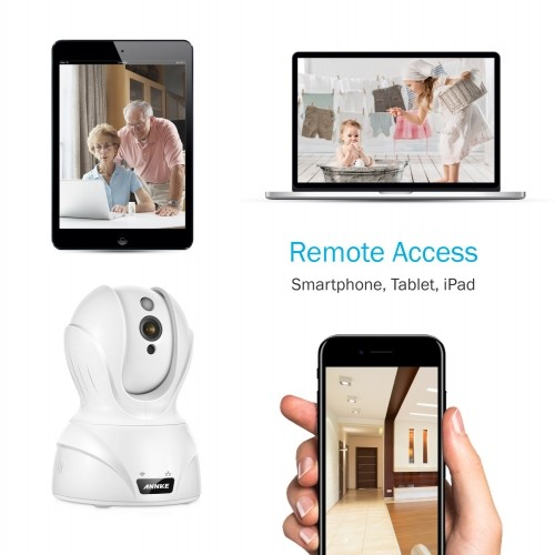 Annke HD 720P Smart Wireless Pan and Tilt Video Security Camera